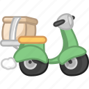 delivery, express delivery, logistic, logistics, shipment, take away, takeaway icon
