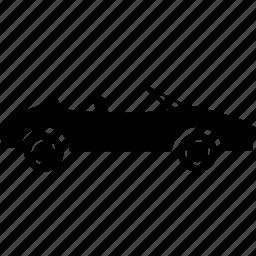 auto, automobile, cabriolet, sedan, speed, sport car, vehicle icon