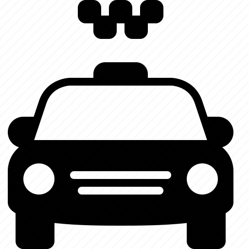 cab, car, drive, taxi, transport, transportation, vehicle icon