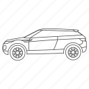 auto, automobile, car, car2, sport, sports, suv icon