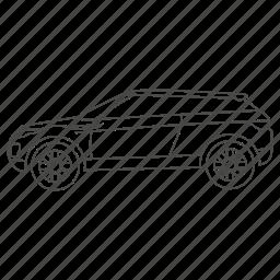 auto, automobile, car, car2, sport, sports, suv icon
