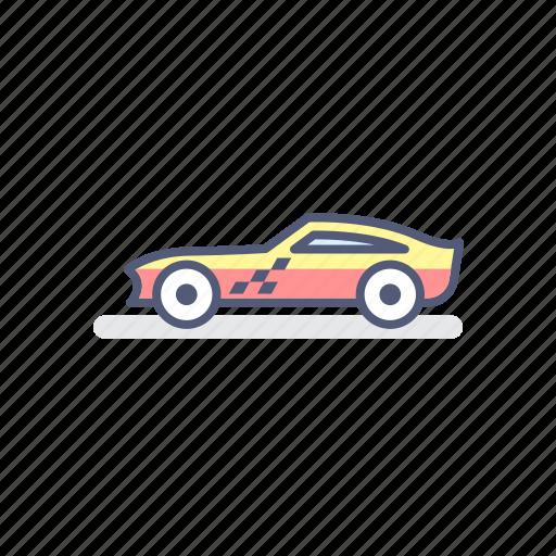 car, datsun, japan, jdm, race icon