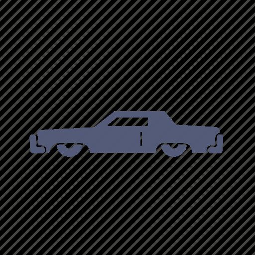 car, classic, low rider, transportation icon