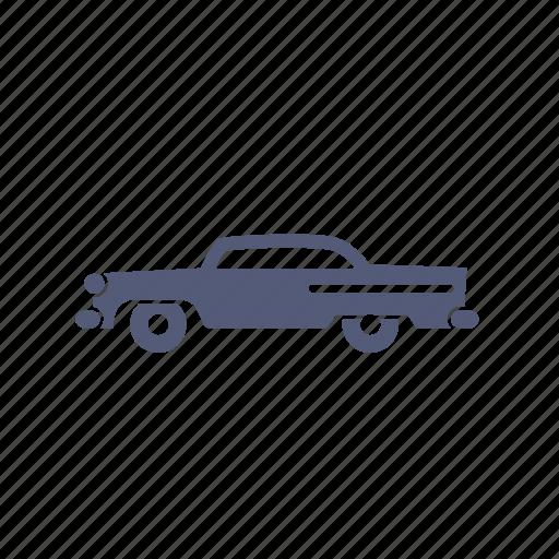 automotiv, car, classic, garage, old, retro, vintage icon