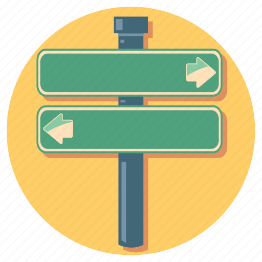 arrow, arrows, direction, right, road, sign icon