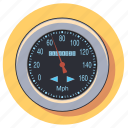 car, gauge, measure, meter, speed, speedometer icon