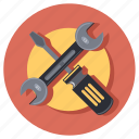 circle, shape, tool, tools, work icon