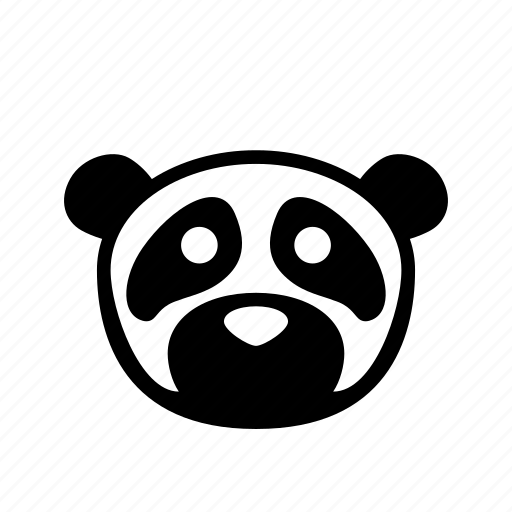 bear, cartoon, panda, puppet, zoo icon