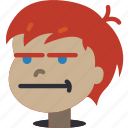 avatars, bored, boy, cartoon, emoji, emoticons