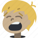 avatars, boy, cartoon, emoji, emoticons, yawn