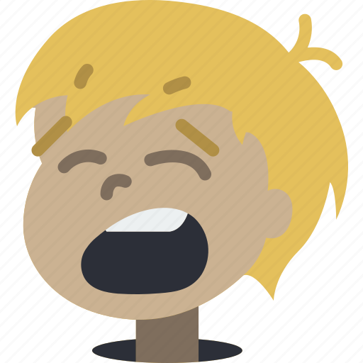 Avatars, boy, cartoon, emoji, emoticons, yawn icon - Download on Iconfinder