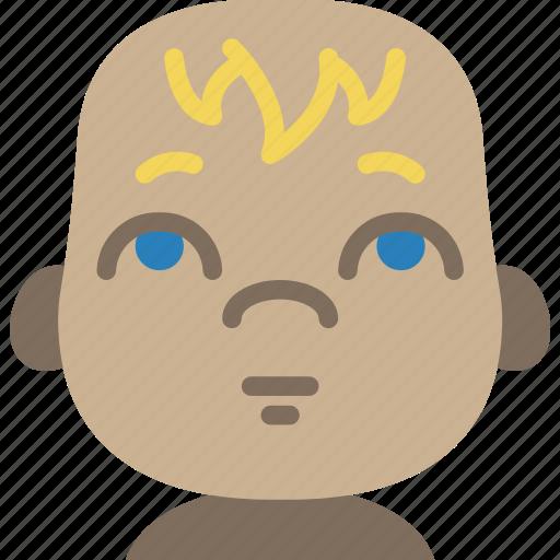 Avatars, baby, cartoon, emoji, emoticons icon - Download on Iconfinder