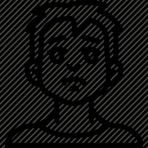 Avatars Boy Cartoon Emoji Emoticons Sad Icon