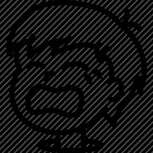 Avatars, boy, cartoon, crying, emoji, emoticons icon - Download on Iconfinder