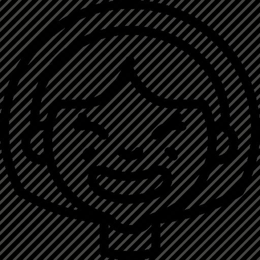 avatars, cartoon, cheesey, emoji, emoticons, girl icon