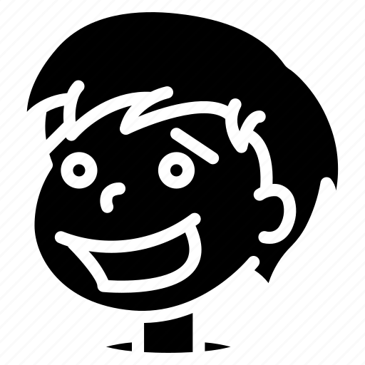 avatars, boy, cartoon, emoji, emoticons, happy icon