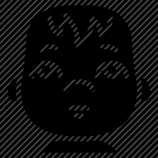 avatars, baby, cartoon, emoji, emoticons icon