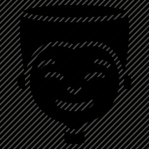 avatars, boy, cartoon, cheesey, emoji, emoticons icon