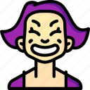 avatars, cartoon, cheesey, emoji, emoticons, girl