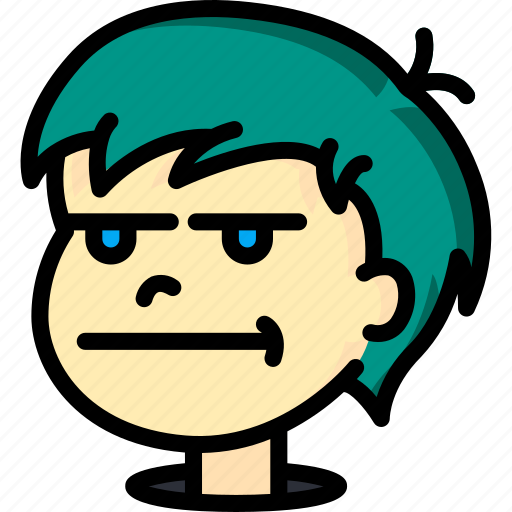 Avatars, bored, boy, cartoon, emoji, emoticons icon - Download on Iconfinder