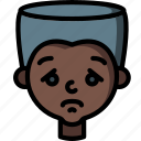 avatars, boy, cartoon, emoji, emoticons, sad