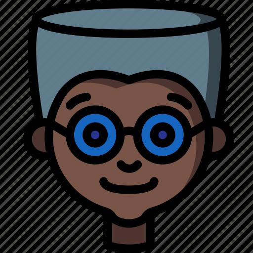 Avatars, boy, cartoon, emoji, emoticons, glasses icon - Download on Iconfinder