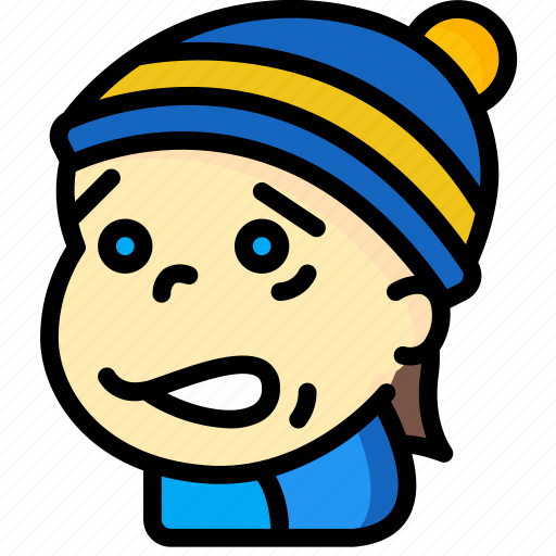 Avatars, boy, cartoon, cold, emoji, emoticons icon - Download on Iconfinder