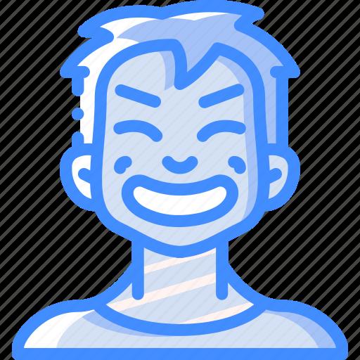 Avatars, boy, cartoon, cheesey, emoji, emoticons icon - Download on Iconfinder