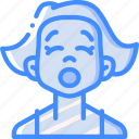 emoticons, tired, avatars, girl, cartoon, emoji