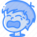 avatars, boy, cartoon, crying, emoji, emoticons