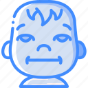 avatars, baby, bored, cartoon, emoji, emoticons icon