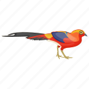 feather creature, macaw, parrot, pet bird, scarlet macaw icon