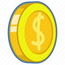 cent, coin, money2, penny icon
