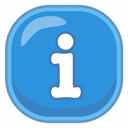 I, info, information icon - Download on Iconfinder