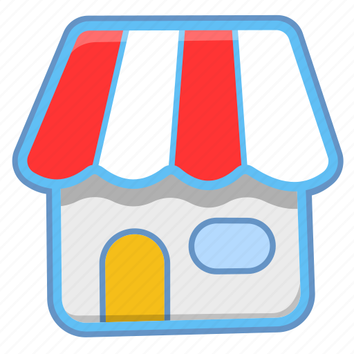 house, kiosk, shop icon