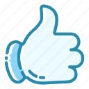 cartoon, favorite, like, liked, social like, thumbs up, web icon