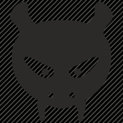 ant, cartoon, face, head, hero icon