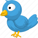 animal, animals, bird, pet, wild icon