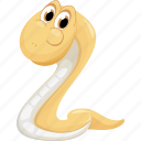 animal, animals, attack, danger, snake, wild, zoo icon