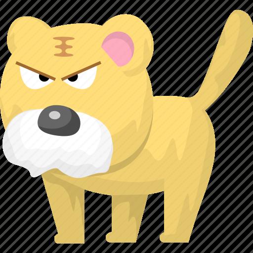 animal, animals, tiger, zoo icon