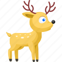 animal, animals, deer, pet, wild icon
