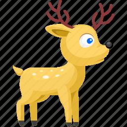 animal, animals, deer, pet, wild icon