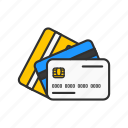 atm cards, cards, credit cards, debit cards icon
