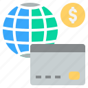 card, cashless, credit, pay, shopping icon