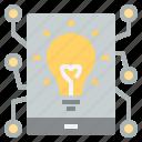 idea, inteligent, smart, smartphone, technology icon