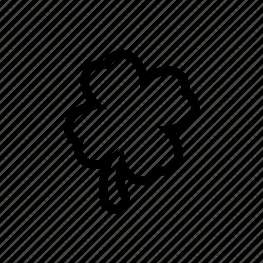 clover, luck, lucky, trefoil icon