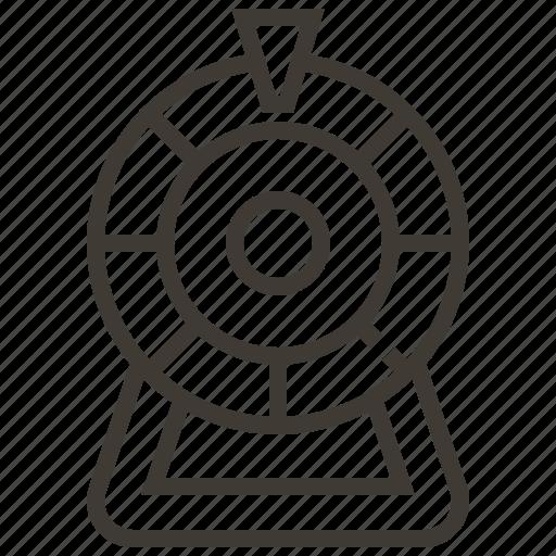 casino, gambling, game, wheel icon