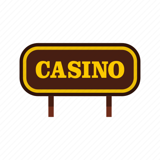 casino, direction, entertainment, gambling, game, play, signboard icon