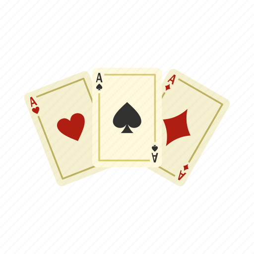 Ace, card, gamble, gambling, game, poker, win icon - Download on Iconfinder
