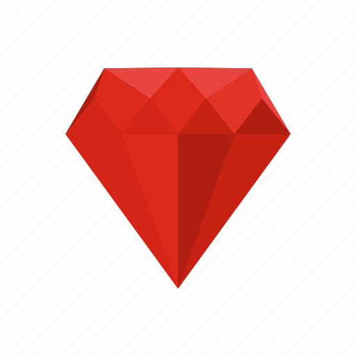 crystal, diamond, gem, jewelry, precious, ruby, treasure icon
